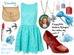Dorothy inspired outfit from The Wizard Of Oz