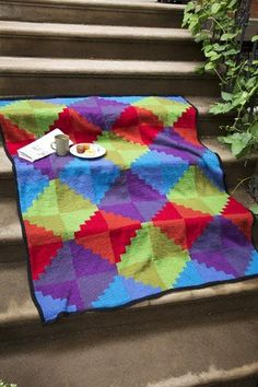 Paintbox Afghan Kit - None