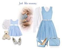 """""""Just like mummy."""" by cardigurl ❤ liked on Polyvore featuring Rebecca Taylor, Yumi, Penny Loves Kenny, Alexander Wang, Carter's and Judith Leiber"""
