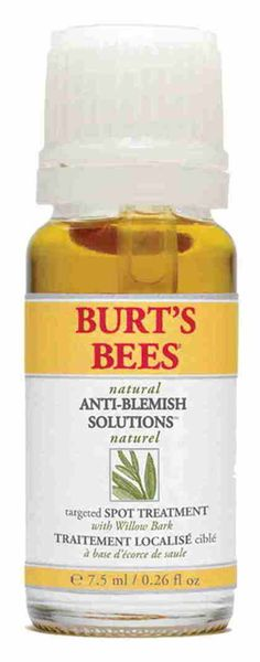 Burt's Bees Natural Acne Solutions Targeted Spot Treatment for Oily Skin - Akne Oily Skin Treatment, Natural Acne Treatment, Acne Spot Treatment, Natural Acne Remedies, Natural Skin Care, Skin Treatments, Natural Beauty, Pimples Remedies, Skin Products
