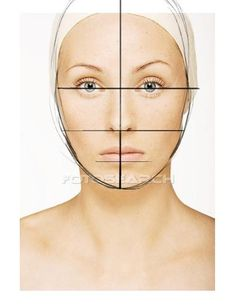 How to draw a face... have students draw Proportions over magazine | http://fashion-designs-966.blogspot.com