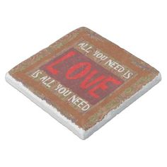 All you need is LOVE Stone Coaster - Xmas ChristmasEve Christmas Eve Christmas merry xmas family kids gifts holidays Santa Love Stoned, Wedding Coasters, Stone Coasters, New Years Party, All You Need Is Love, Engagement Gifts, Family Holiday, Merry Xmas, Wedding Supplies
