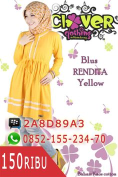 Blus Rendita Yellow https://www.facebook.com/divistore