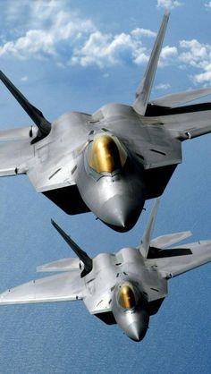 F-22 Raptor Fighter Jets... This is the sound of freedom! Coolest thing on planet earth, literally! Nothing compares