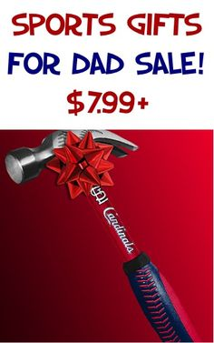 Sports Gifts For Dad Sale! {$7.99+} - stash away a fun Father's Day gift!