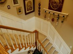 Add pizzazz to your wall with wainscoting