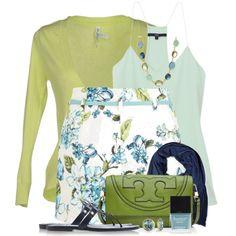 """Miss Selfridge Floral Belted Shorts"" by brendariley-1 on Polyvore"