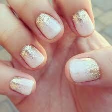 ombre glitter nails