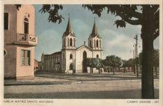 Igreja da Matriz de Santo Antônio, antes da demolição.