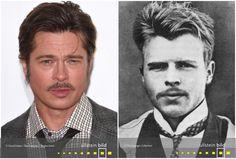 Brad Pitt | Hermann Rorschach Brad Pitt, Den, Time Travel, Celebrities, Figurine