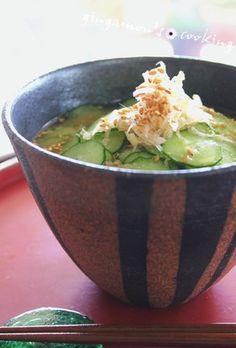 旨っ!簡単!鰹削り節で~冷汁風かけご飯 by gingamom [クックパッド ...