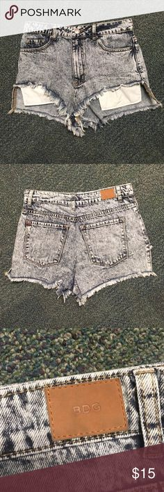 High waisted jean shorts Feel free to make an offer or bundle and save! BDG Shorts Jean Shorts