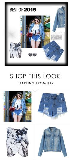 """""""Best of"""" by meraza ❤ liked on Polyvore featuring Topshop, Wood Wood, KylieJenner and bestof2015"""