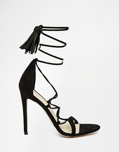 Image 2 of ASOS HINDSIGHT Heeled Sandals
