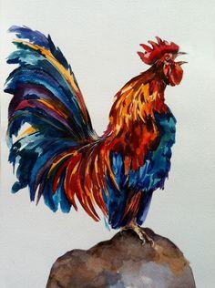 pinturas gallos - Buscar con Google