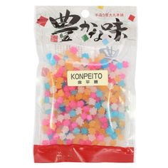 Crunchy star-shaped sugar candies that are Super Kawaii! Beloved by anime fans, these sweet little treats are perfect bite size snacks. - Product of Japan
