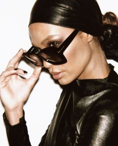 831c426f2b Gigi Hadid + Joan Smalls Front Tom Ford Womenswear SS 2019 By Ferry van der  Nat. Optical Connection