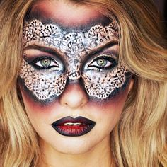 How To Create A Halloween Costume With Your Makeup | The Zoe Report