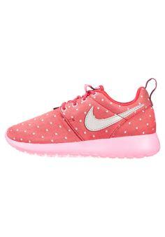 Nike Sportswear ROSHE ONE - Sneakers basse - dark red/metallic silver/pink pow/white - Zalando.it
