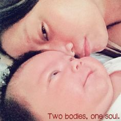 Two bodies, one soul. #mother and #child