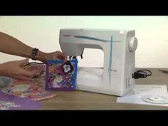 Janome FM725 Embellisher Machine - https://www.youtube.com/watch?v=J6Kv8g2bElY