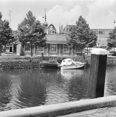 Achtergevel Visbank Vlaardingen The Netherlands