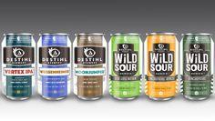 Crisp New Packaging from DESTIHL Brewery • thefullpint.com