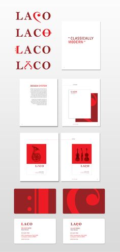 LACO Identity Design by Duk Designs