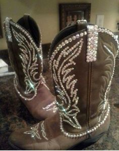 Paradise swarovski bling cowgirl boots | boots boots and more