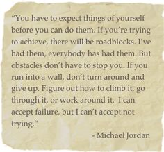 Michael Jordan quote- I need to post this for my children!