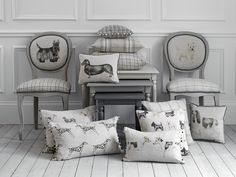 Like dogs? Plenty to choose from in this collection by Voyage......Image by David Cadzow