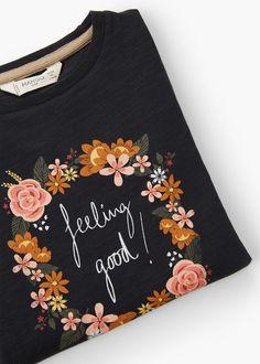 Image cotton t-shirt | MANGO KIDS