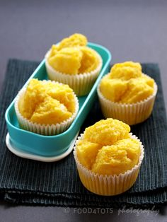 Pumpkin is full of vitamins, minerals, fiber, and antioxidants. Learn how to make steamed pumpkin muffins from Low Lai Kuan. Muffin Recipes, Baby Food Recipes, Baking Recipes, Cake Recipes, Dessert Recipes, Baked Pumpkin, Pumpkin Recipes, Pumpkin Spice, Steam Cake Recipe