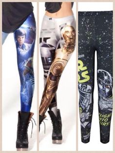 How badass would these Star Wars tights be for running?!?! MUST. HAVE.