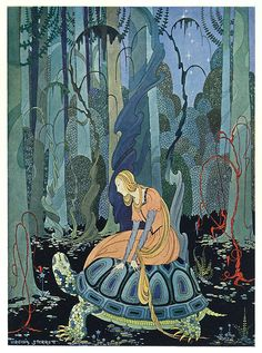 They were three months passing through the forest Virginia Frances Sterrett, from Old French Fairy Tales, by the Comtesse de Ségur. 1920