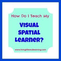 How do I Teach My Visual Spatial Learner?