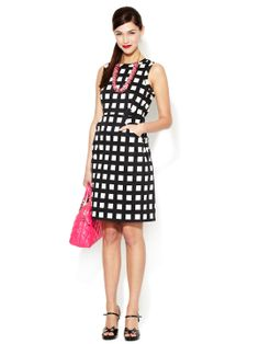 Lorelei Printed Stretch Cotton Sheath Dress by kate spade new york at Gilt.com