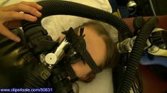 sarah_aviator_hd_135 (pb326) Tags: woman girl mask scuba rubber cylinder nasal breathing anesthesia twinhose
