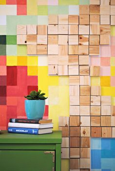 Turn your favorite images and patterns into an absolutely amazing pixelated wall filled with eye-catching color and texture!