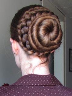 The (tentative) Bun and Braid Reference Thread! Bun Hairstyles For Long Hair, Hair Dos, Braided Hairstyles, Braided Chignon, Beautiful Braids, Beautiful Long Hair, Renaissance Hairstyles, Medium Hair Styles, Long Hair Styles