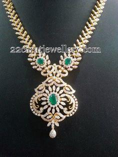 Diamond Necklace Detachable Pendant