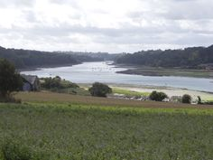 The River Jaudy which flows through Tréguier and out to sea