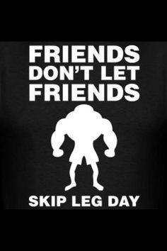 Leg day humor