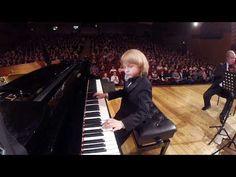 Юный пианист и композитор, Енисей Мысин в Органном зале Набережных Челнов - YouTube