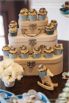 Maletinhas com Cupcakes