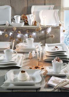 Geschirr-Serie, Porzellan, »Archetto« im Online Shop von Ackermann Versand #weihnachten #wohnen Table Settings, Dishes, Table Decorations, Furniture, Design, Home Decor, Tablewares, Playing Games, Christmas
