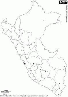 map of the republic of peru coloring page Peru Coloring Pages Printable  Coloring Pages Peru