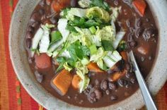 Chipotle Black Bean and Yam Stew Recipe