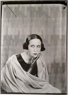 Lise Deharme, Paris,1930 by Man Ray