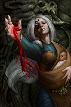 Blood Mage; You Shall Not Take Her From Me - DragonReine